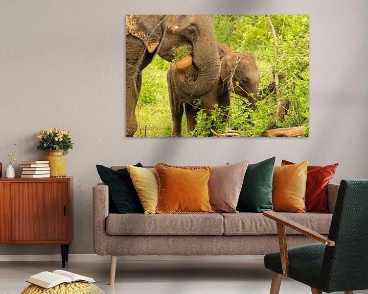 Beispiel: Elefant im Dschungel von Nicole Nagtegaal