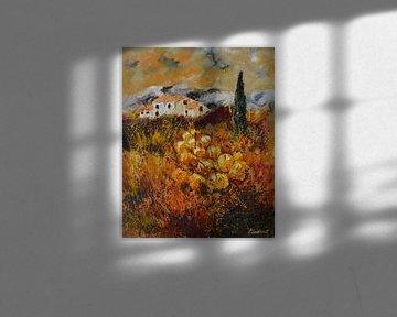Herfst in de Provence van pol ledent