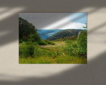 landschap in de bergen van Delphine Kesteloot