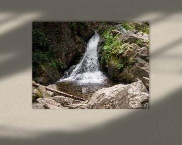 Waterval in Frankrijk van Delphine Kesteloot