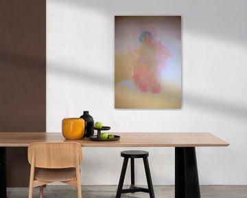 Abstraktes nacktes Porträt einer Frau von Maurice Dawson