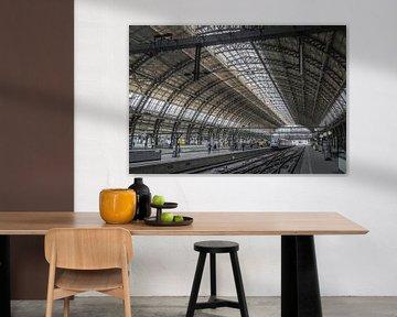 Hauptbahnhof Amsterdam von René van Leeuwen