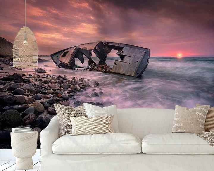 Beispiel fototapete: Der Schiffbruch der Insel Kos von Costas Ganasos