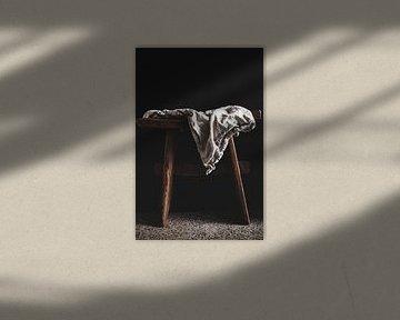 Tissu de lin sur Katja • W
