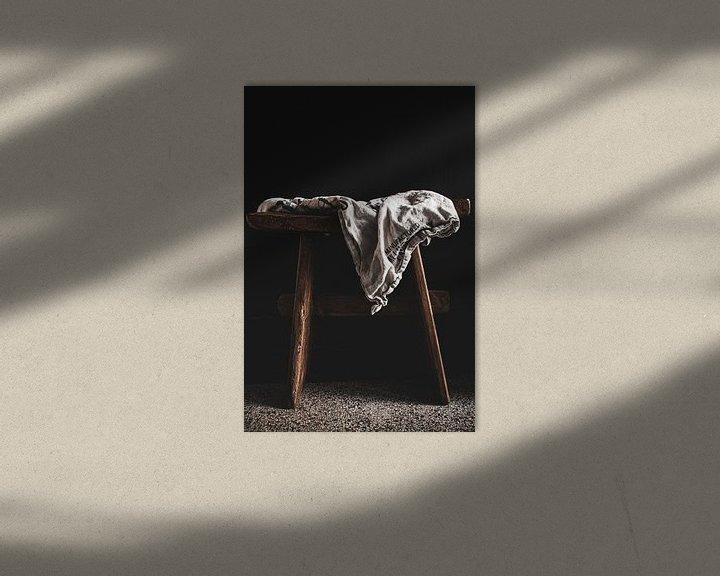 Impression: Tissu de lin sur Katja • W