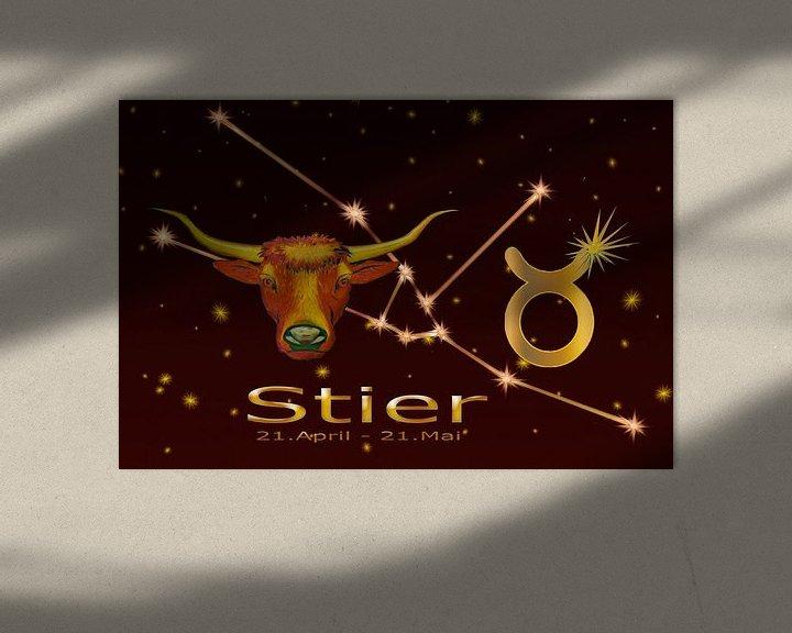 Beispiel: Sternzeichen - Stier von Christine Nöhmeier