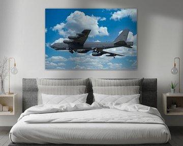 Boeing B-52 Stratofortress, bommenwerper USAF van Gert Hilbink