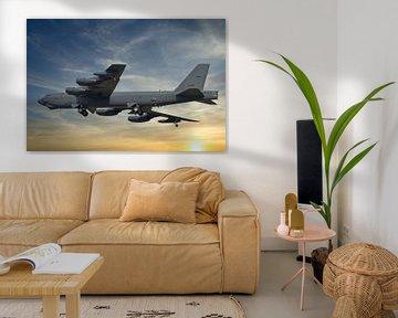 Boeing B-52 Stratofortress, bombardier USAF sur Gert Hilbink