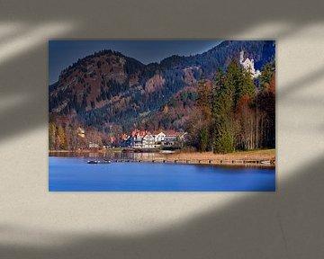 Spätherbst am Alpsee in Hohenschwangau