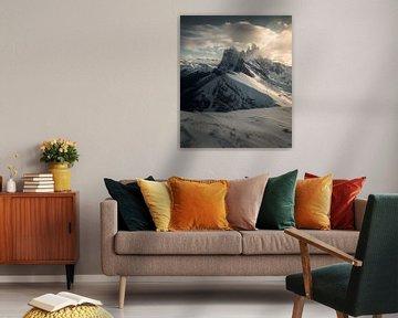 Voici le mont Seceda dans le Tyrol du Sud, en Italie. sur Niels Tichelaar