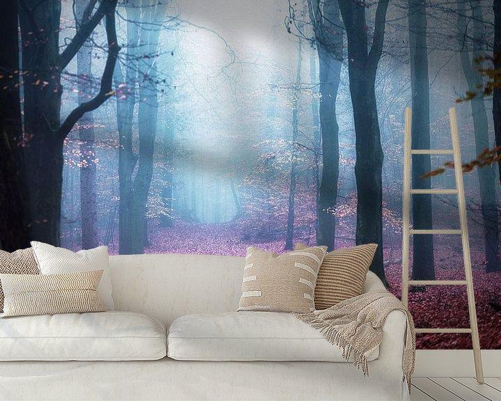 Sfeerimpressie behang: Oneironautics van Cho Tang