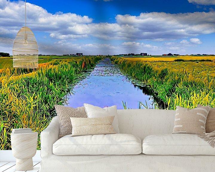 Beispiel fototapete: Die Lytse-Angst in Friesland von Digital Art Nederland