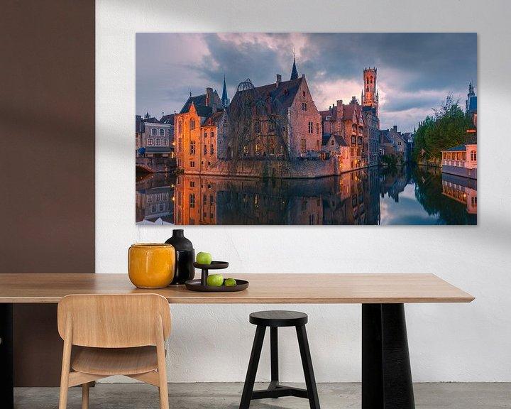 Beispiel: Rosenhut-Kai in Brügge, Belgien von Henk Meijer Photography