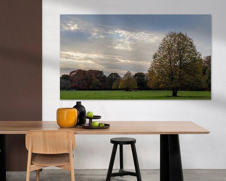 Impression: Paysage d'automne sur Anjo ten Kate