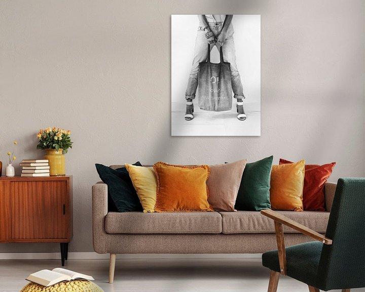 Sfeerimpressie: Jeans style  black&white van Katja • W