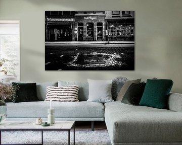 Leiden in Schwarz-Weiß von Dirk van Egmond
