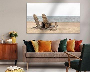 Silence au bord de la mer à Duindorp sur Hendrik Harm