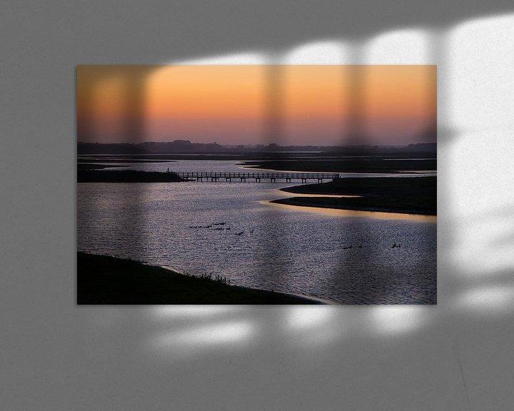 Sfeerimpressie: Inlaag bij Heerenkeet in Zeeland van Filip Staes