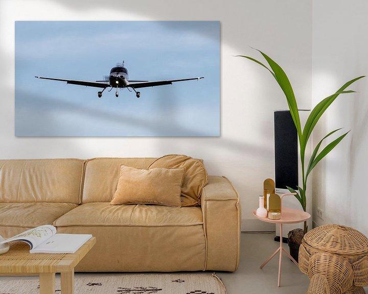Beispiel: Ankommendes Flugzeug! von Anjo ten Kate