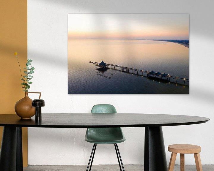 Beispiel: Seebrücke Heringsdorf auf der Insel Usedom von Werner Dieterich