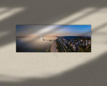 Luchtfoto Panorama Heringsdorf op Usedom van Werner Dieterich