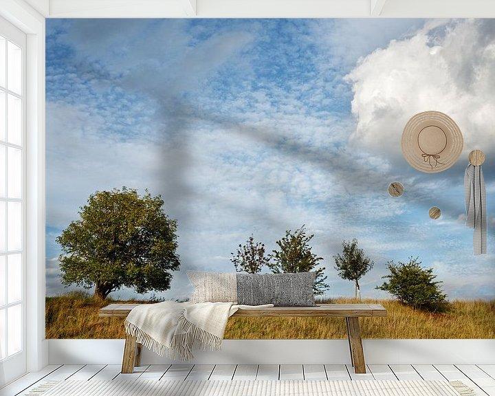 Beispiel fototapete: Fünf Bäume von Ralf Lehmann