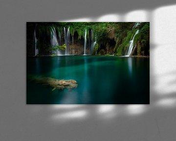 Plitvice meren van Max Nicolai