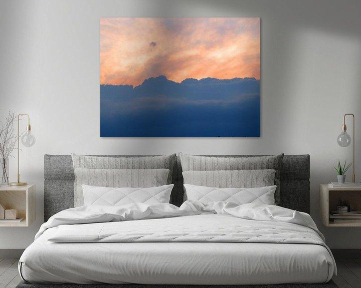 Beispiel: Wolken (Wolken am Abendhimmel) von Caroline Lichthart