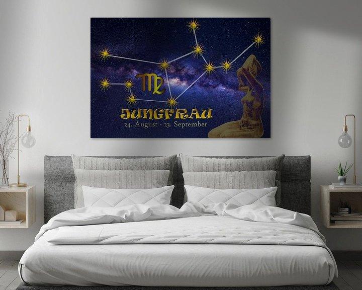 Beispiel: Sternzeichen - Jungfrau von Christine Nöhmeier
