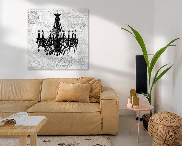 Beispiel: Barock Romantik In Grau von Andrea Haase