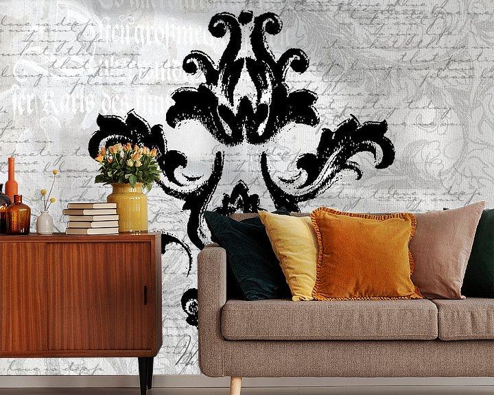 Beispiel fototapete: Barock Romantik In Grau von Andrea Haase