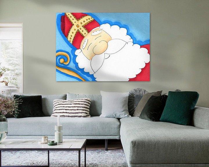 Beispiel: Sinterklaas von Irene Hoekstra