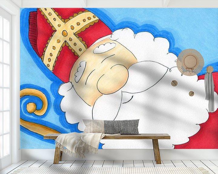 Beispiel fototapete: Sinterklaas von Irene Hoekstra