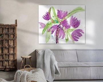 Blütenpurpur von Irene Hoekstra