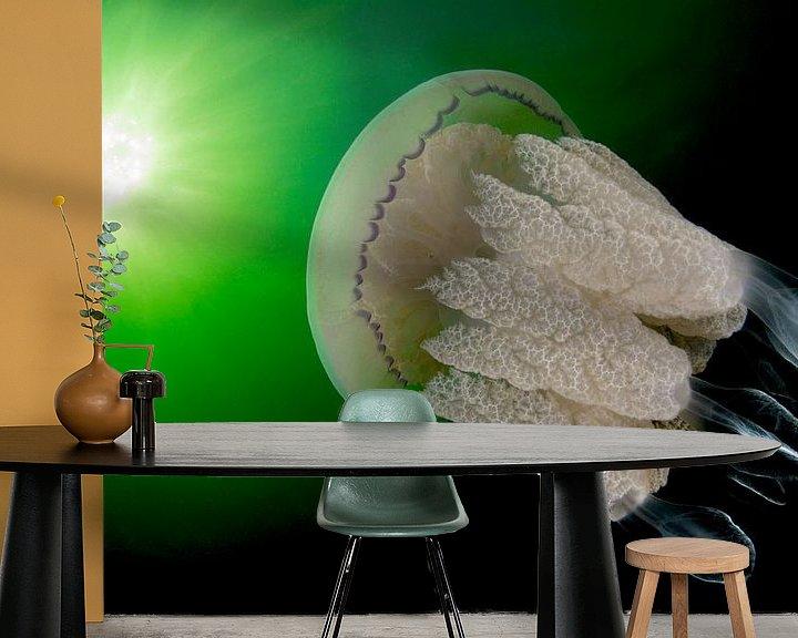 Sfeerimpressie behang: Grote kwal in Zeeland van Filip Staes