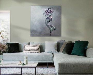 Design der Meerjungfrau von Emiel de Lange