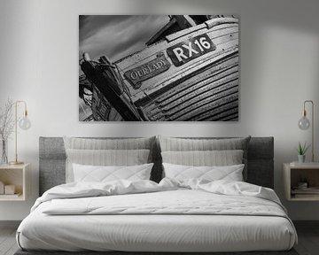 Detail Fischerboot Hastings von Rene van de Esschert