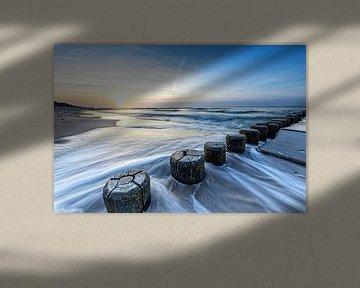 Strand von Ahrenshoop zum Sonnenuntergang von Tilo Grellmann | Photography