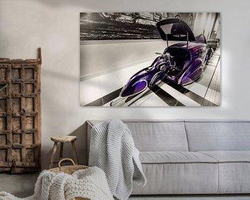 Hot Rod-Motorrad von Rob Boon