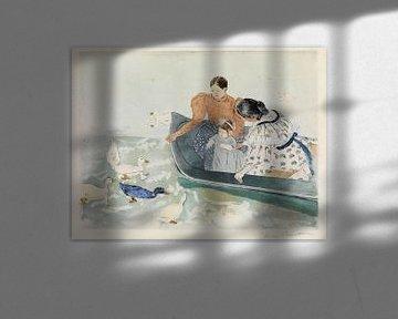 Die Enten füttern, Mary Cassatt - 1894