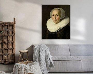 Porträt von Marguerite Benningh, Nicolaes Eliasz. Pickenoy - ca. 1629