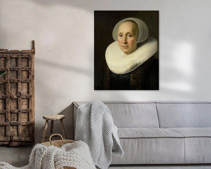 Sfeerimpressie: Portret van Margriet Benningh, Nicolaes Eliasz. Pickenoy - ca. 1629