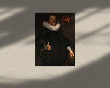 Porträt von Pieter van Son, Nicolaes Eliasz. Pickenoy - um 1622