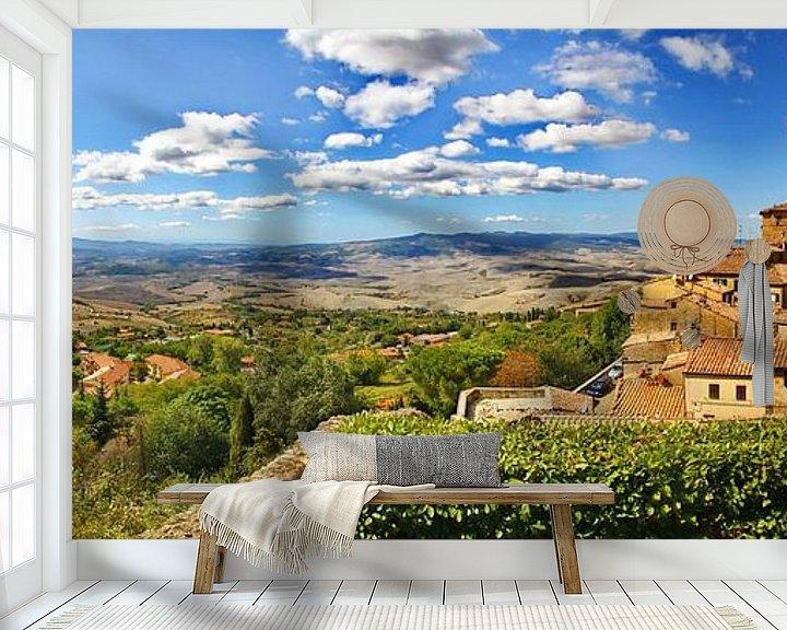 Beispiel fototapete: Volterra von fotoping