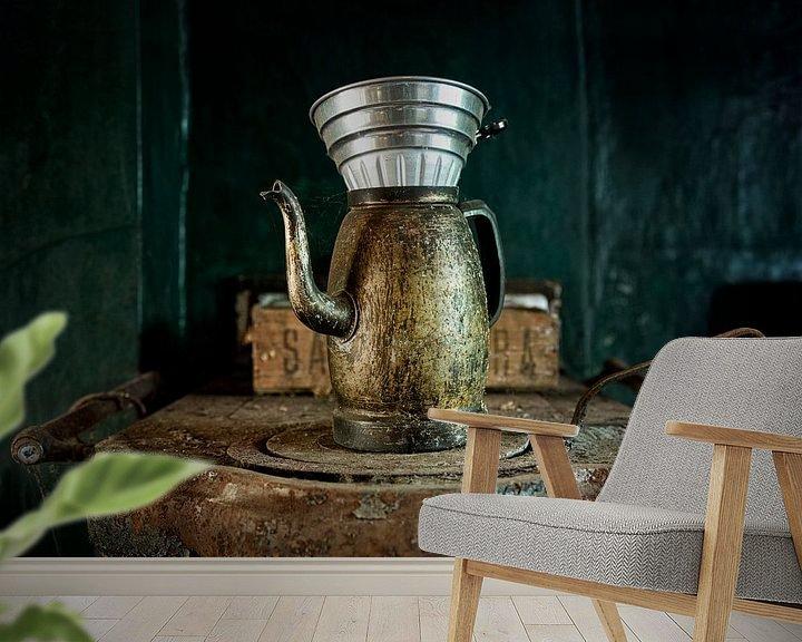 Beispiel fototapete: Eine Tasse Kaffee im Maison S. von Vincent Willems