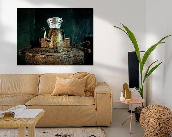 Beispiel: Eine Tasse Kaffee im Maison S. von Vincent Willems
