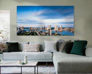 Panorama Rotterdam von John Monster