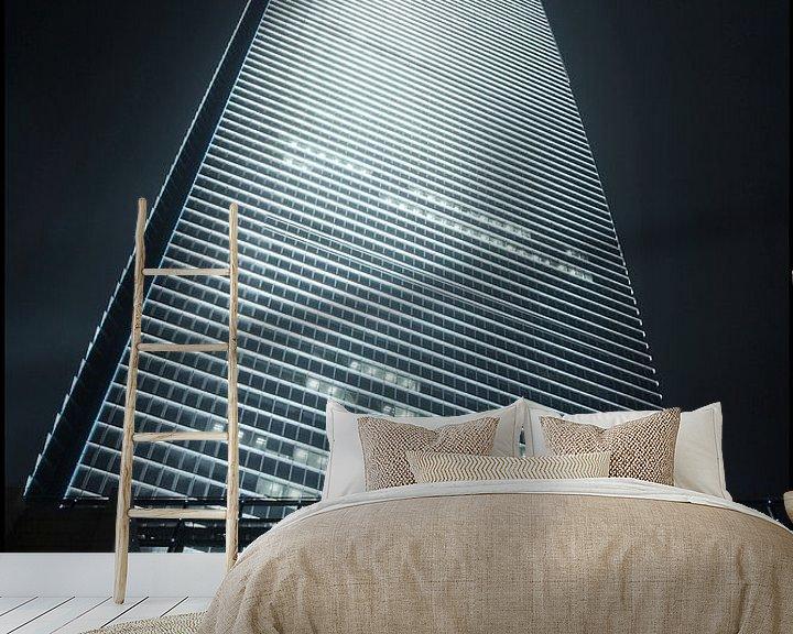 Impression: gratte-ciel World Financial Cente dans le district de Pudong Shanghai 4 sur Tony Vingerhoets