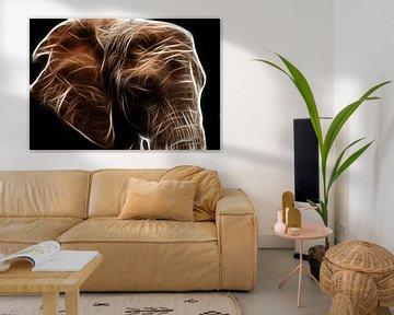 Der Elefant von Bert Hooijer