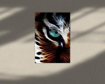Das Auge des Tigers von Bert Hooijer